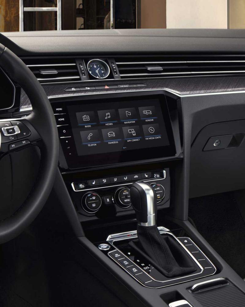pantalla de We Connect en el Volkswagen Arteon