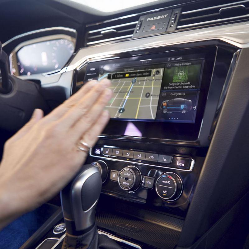 Control con gestos del sistema de navegación Discover Pro