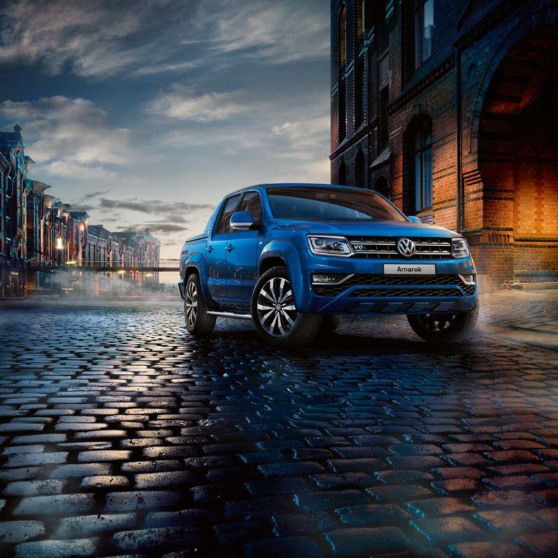 vw Volkswagen Amarok pickup V6 motor 258 hk 4motion 4x4 firehjulstrekk 2022