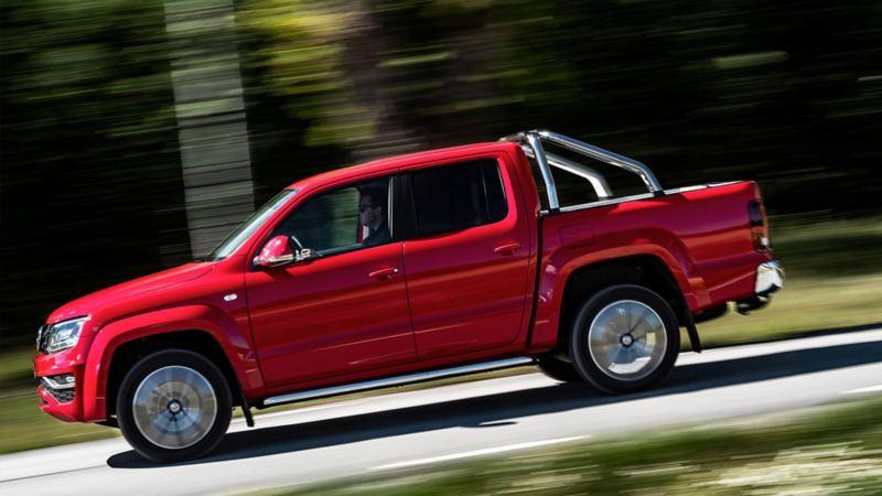 Med den uppdaterade V6:an i Volkswagen Amarok blir det svårt att inte le bakom ratten.