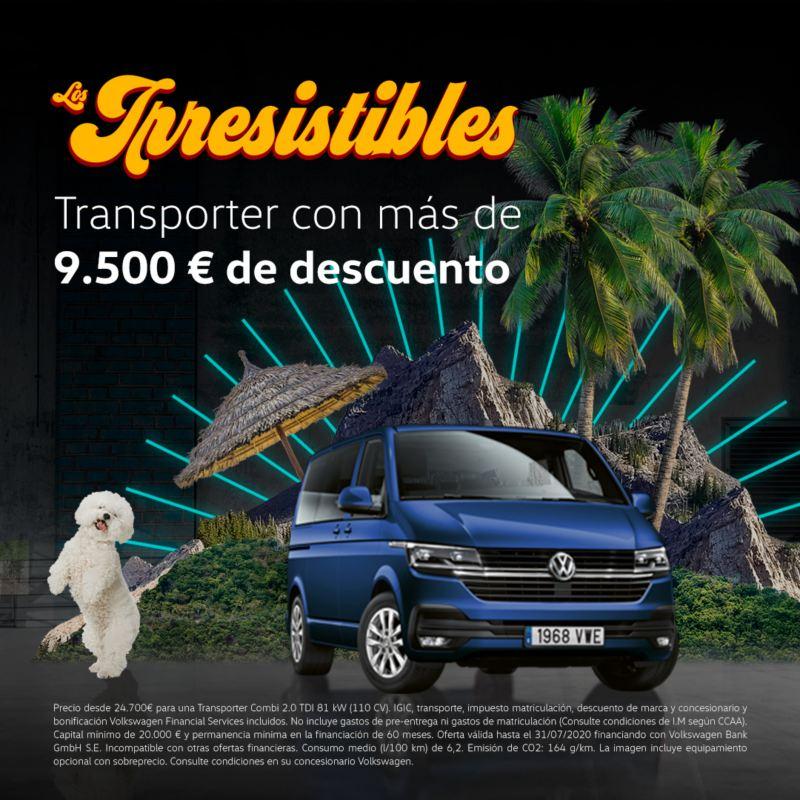 Campaña irresistibles transporter Volkswagen