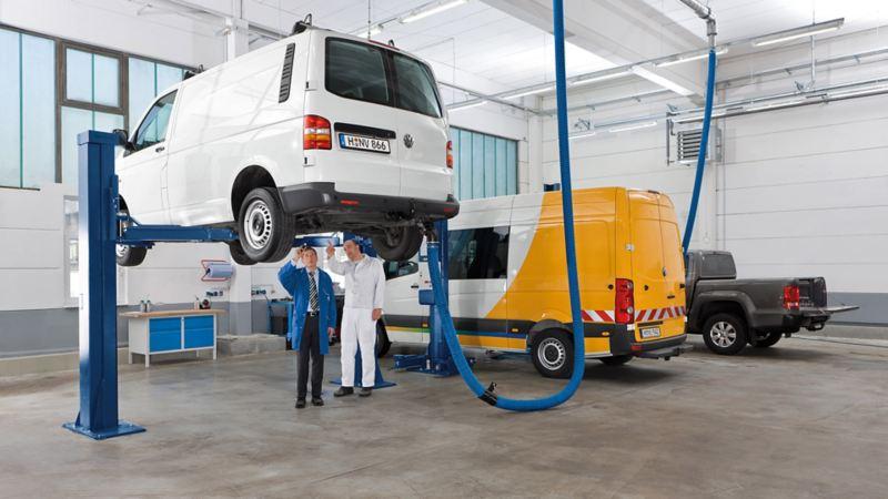vw Volkswagen EU-kontroll bremsesjekk når skal bilen på EU-kontroll? varebil merkeverksted