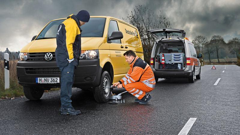 vw Volkswagen garanti mobilitetsgaranti service vedlikehold merkeverksted Transporter bilverksted motorstopp Viking redningstjeneste
