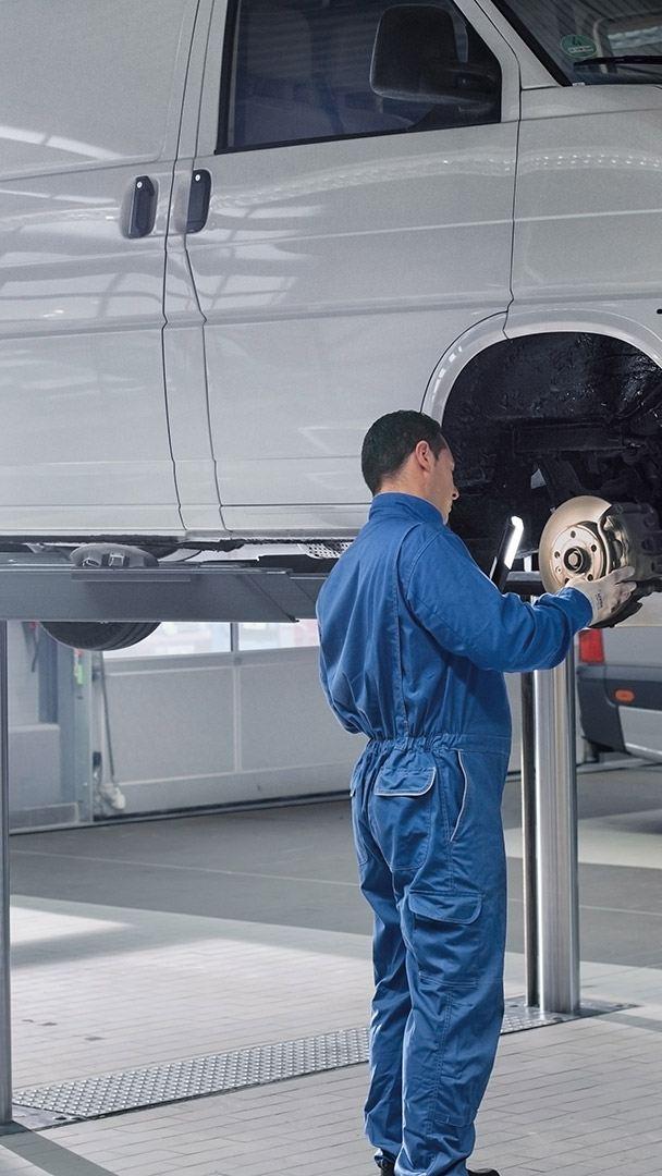 EU-kontroll merkeverksted når skal bilen på EU-kontroll vw Volkswagen varebil