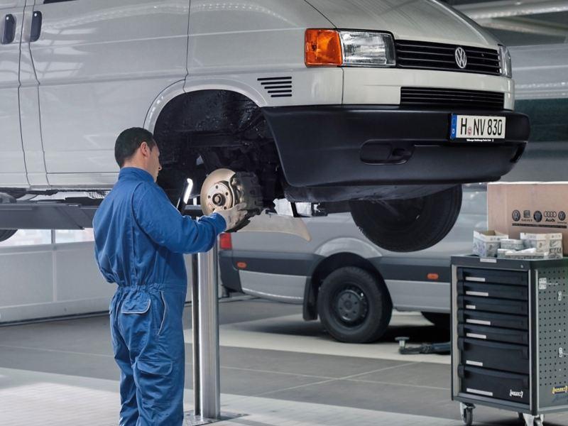 vw Volkswagen varebiler EU-kontroll T6 Caddy Transporter Crafter pickup Amarok