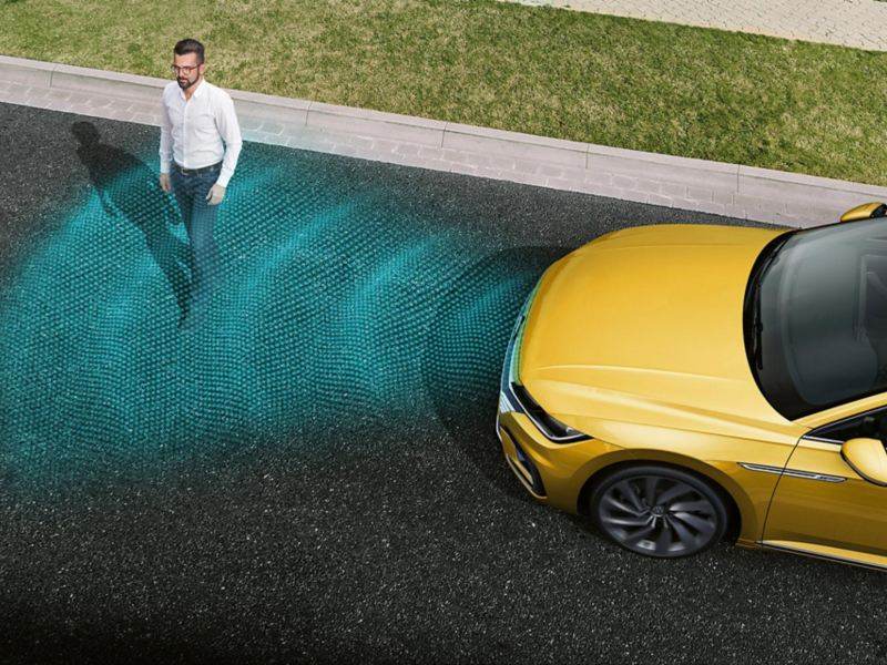 Arteon 'Front Assist'