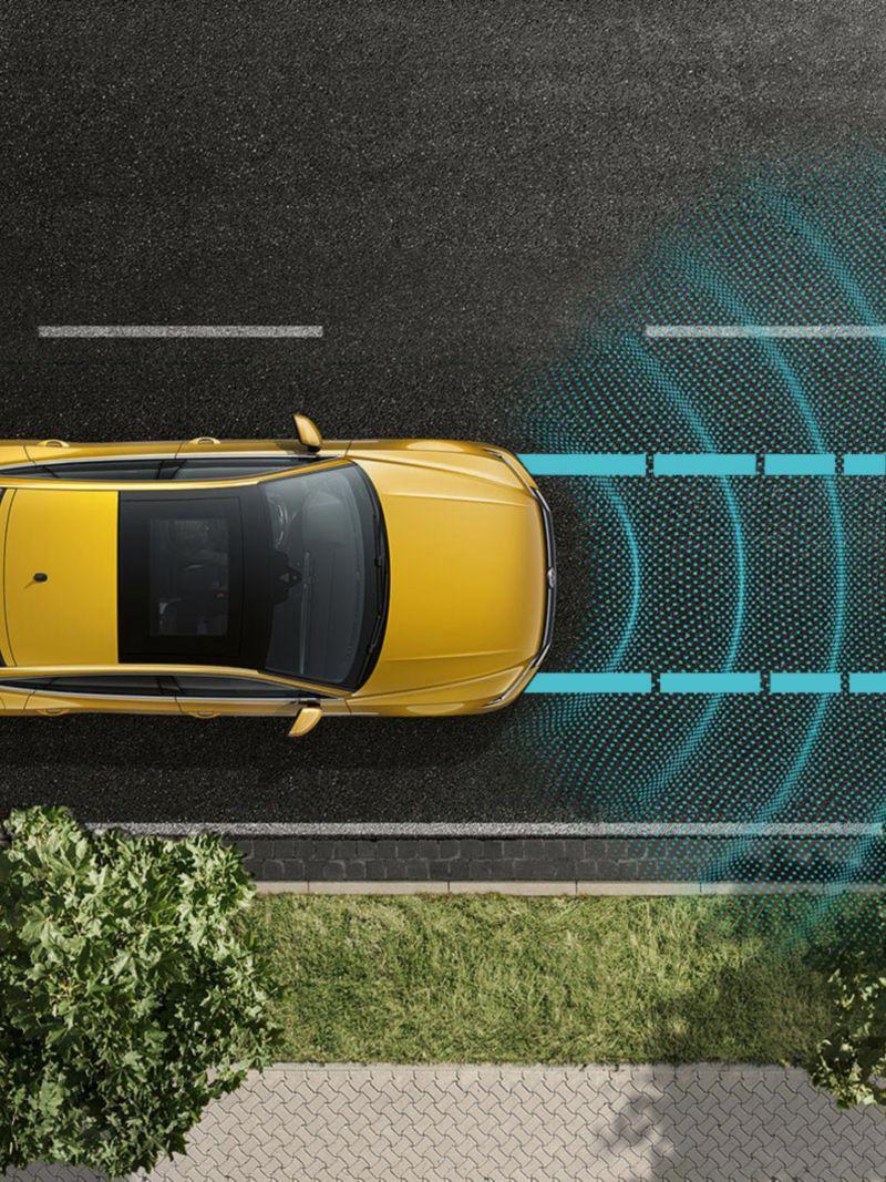 Arteon, Adaptive cruise control con regolazione automatica della distanza (ACC)