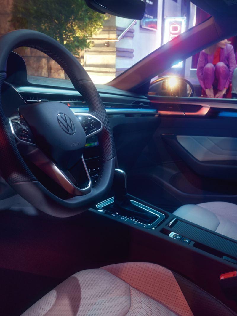 Interior do VW Arteon Shooting Brake