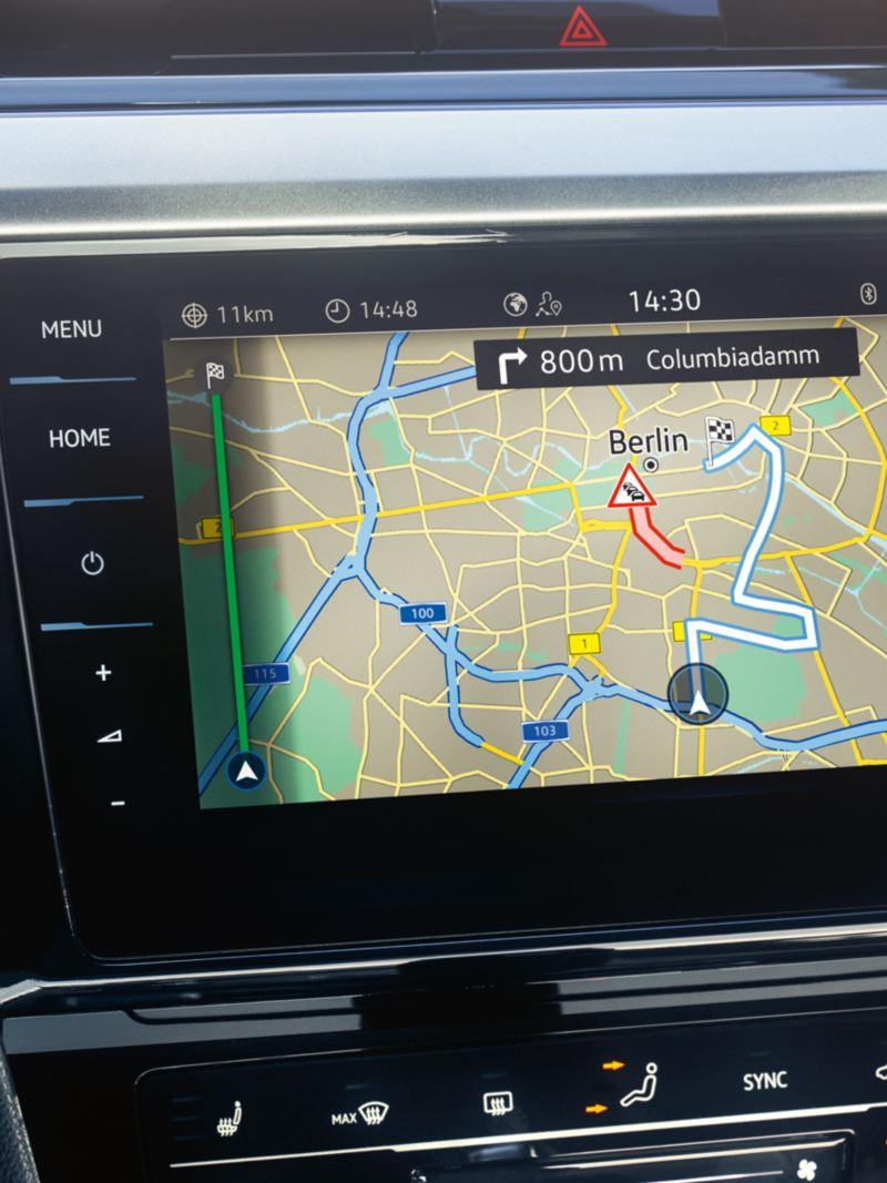 Sistema de navegação do VW Arteon