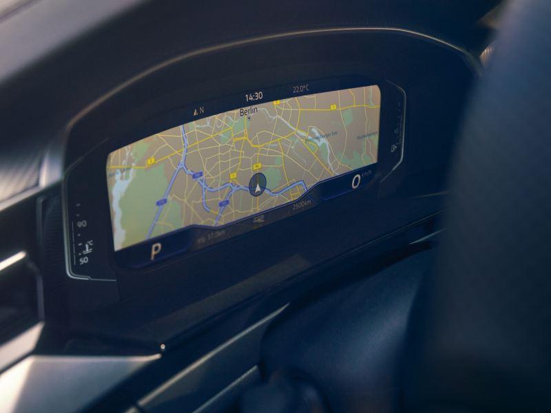 Cockpit digital do VW Arteon