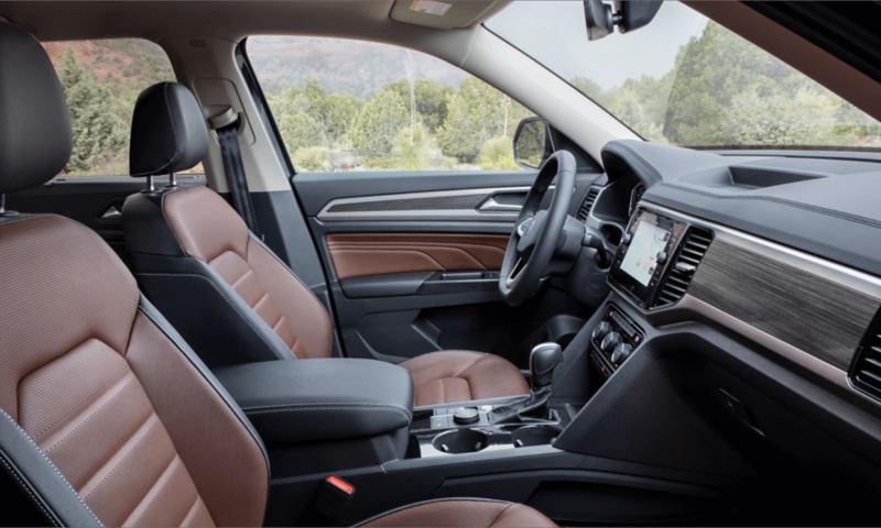 2021 VW Atlas Interior look