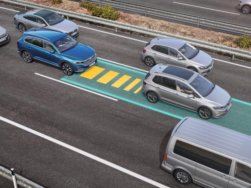主動式車道修正輔助系統