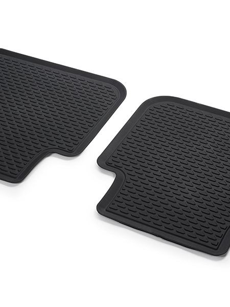 All Weather Floor Mats Rear