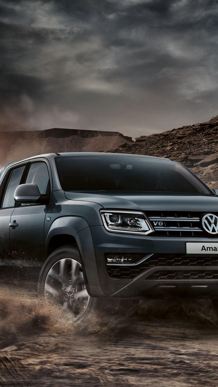 Amarok pickup vw Volkswagen V6 motor 258 hk 4motion 4x4 firehjulstrekk