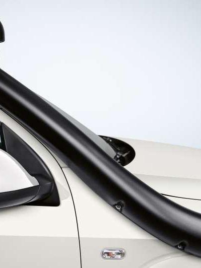 Carrinha Volkswagen Amarok com filtro para impedir a entrada de sujidade no motor.