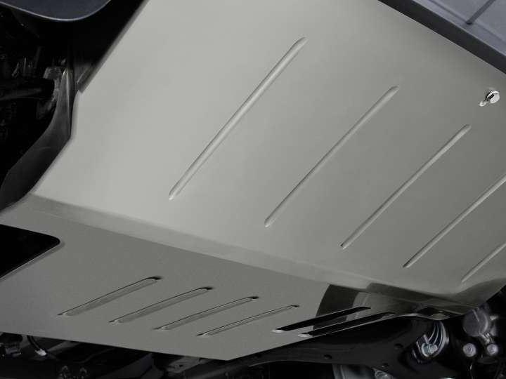 Proteção inferior do motor do VW Amarok.