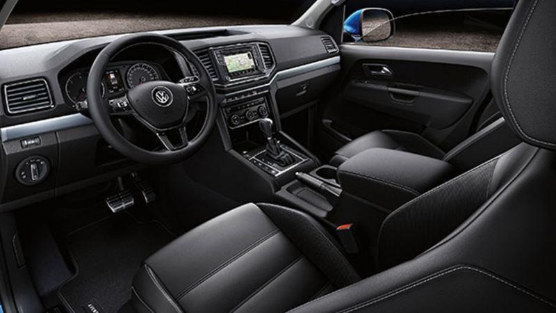 Cabina de Amarok, Camioneta 4x4 de Volkswagen