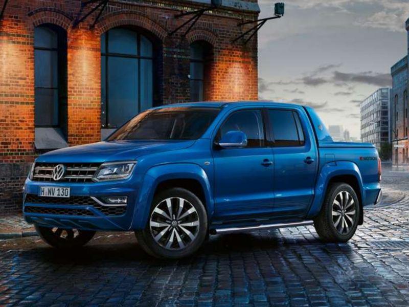 Amarok, camioneta 4x4 disponible en catálogo de Vehículos Comerciales de Volkswagen