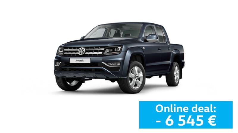 Pick up Volkswagen Amarok azul