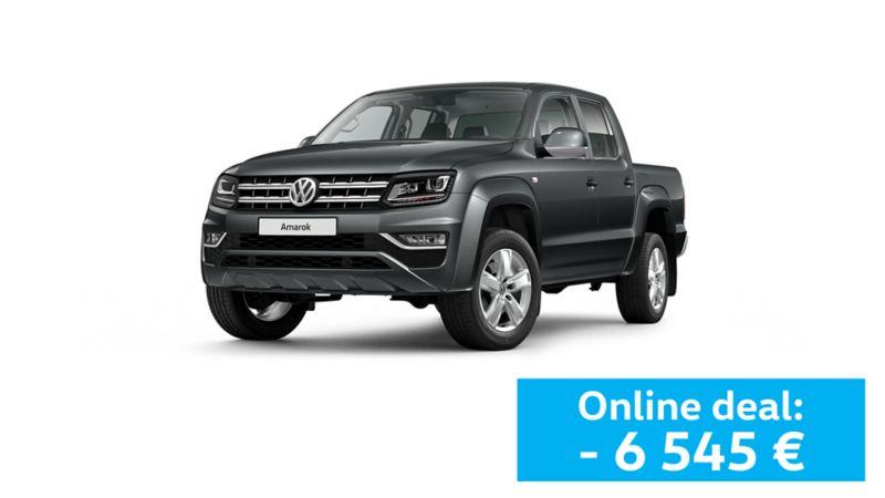 Pick up Volkswagen Amarok cinzento