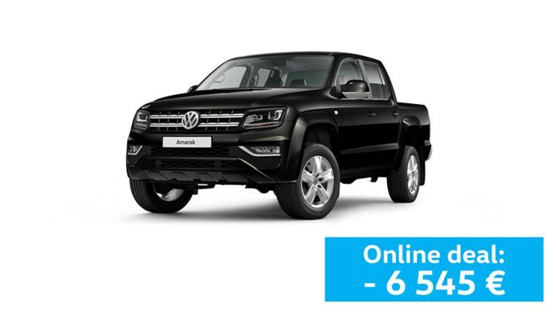 Pick up Volkswagen Amarok preto