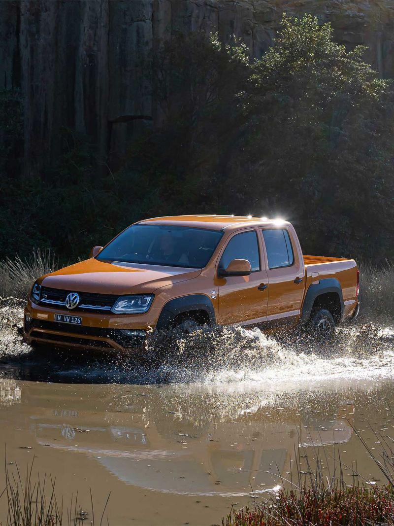 Amarok Canyon Water crossing