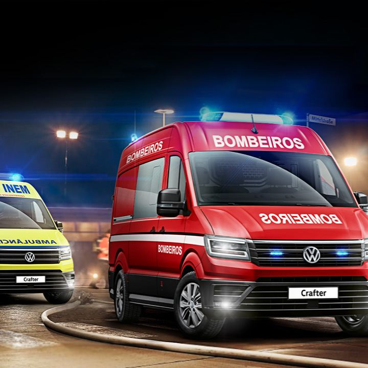 Veículos de emergência da Volkswagen Veículos Comerciais