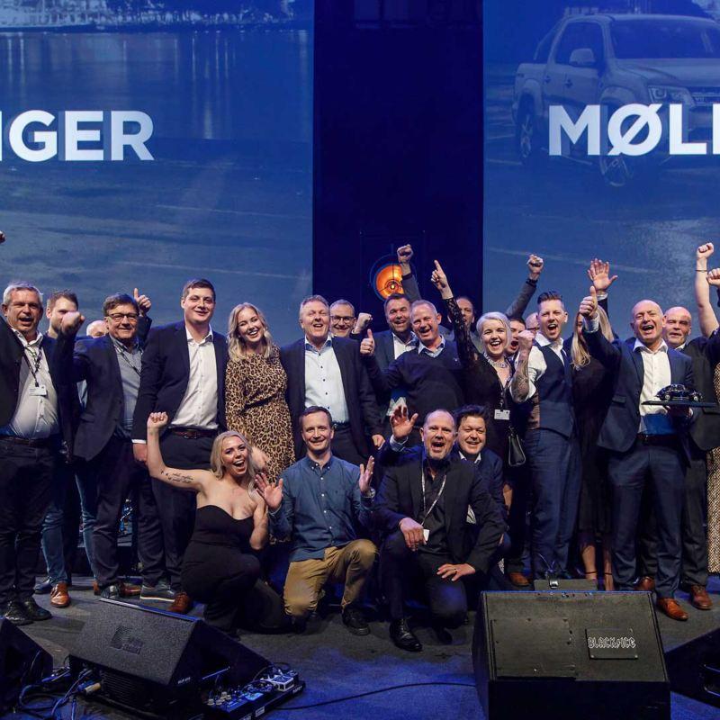 Møller Bil Stavanger årets forhandler 2018
