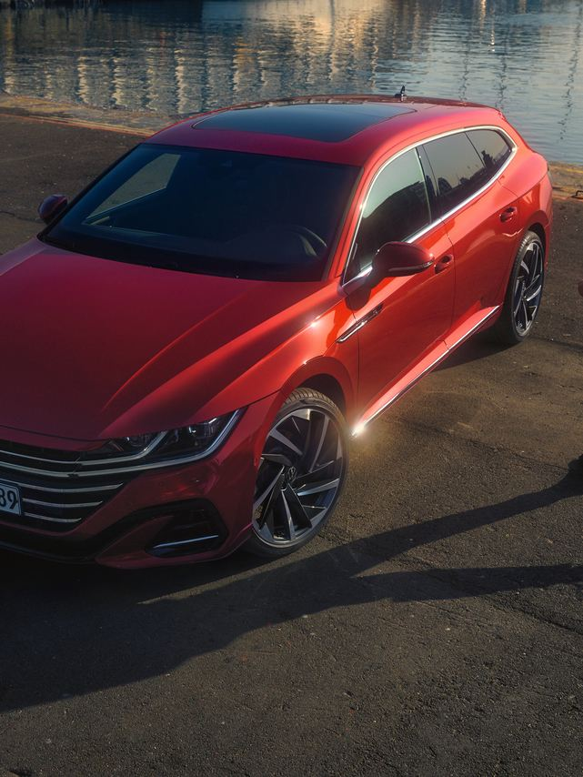 The Arteon 車頭設計