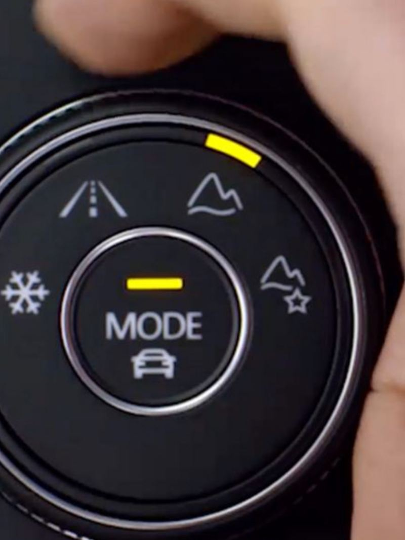 The 4Motion knob on the Atlas console
