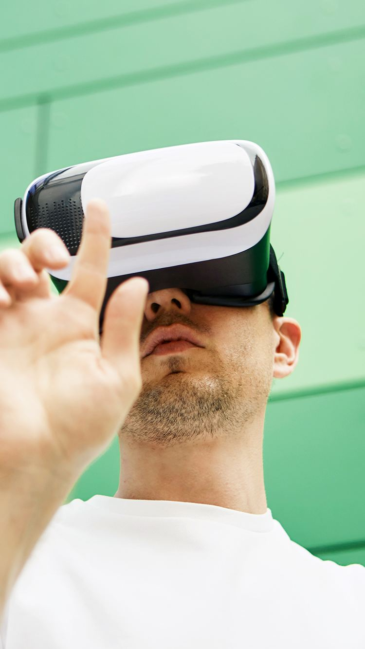 Experiencing AR and VR