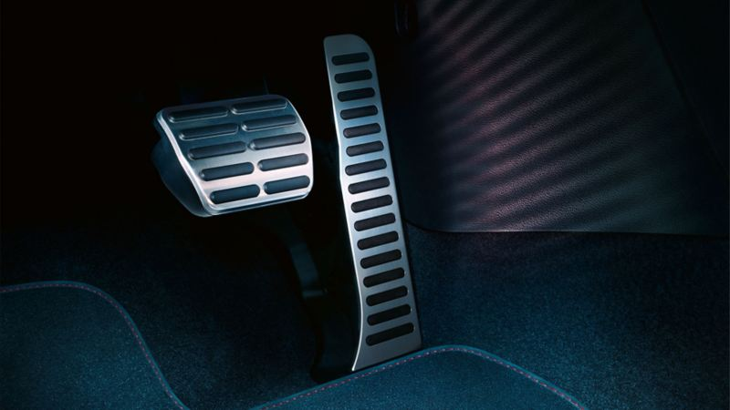 Accelerator pedal on the VW Beetle Cabriolet