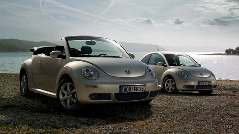New Beetle e New Beetle Cabriolet