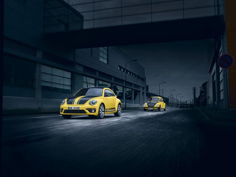 Maggiolino  Volkswagen GSR giallo nero