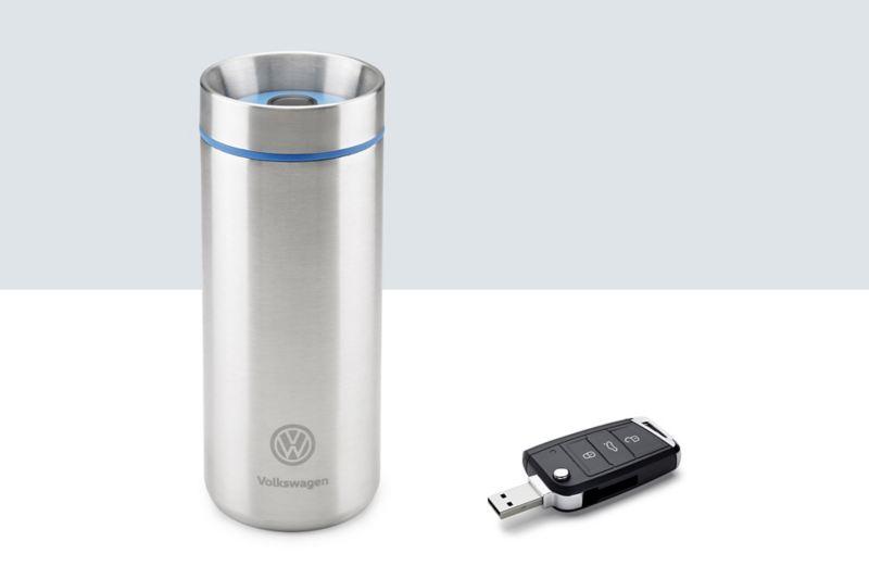 Borraccia e chiavi usb Volkswagen