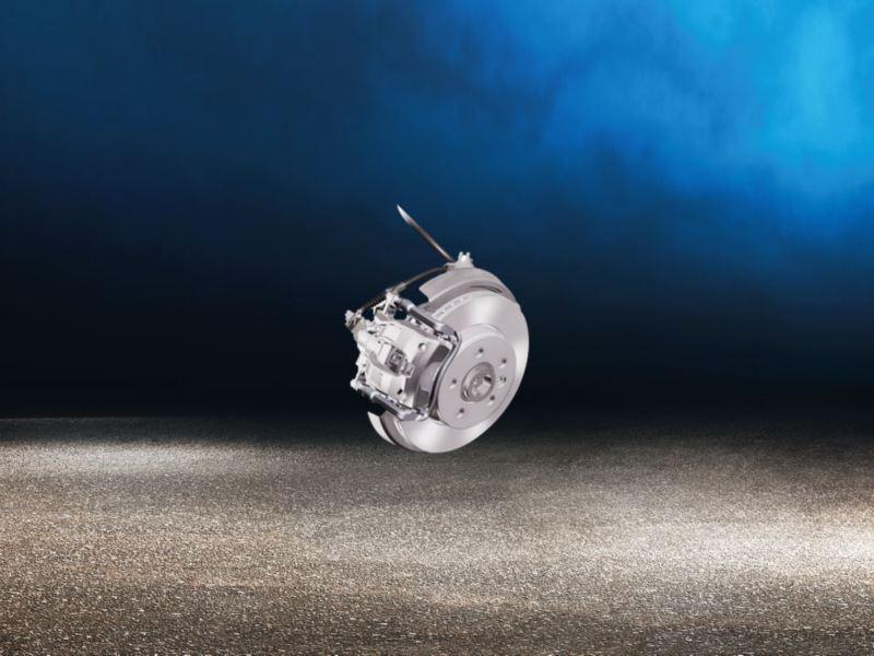 Amarok V6 brakes
