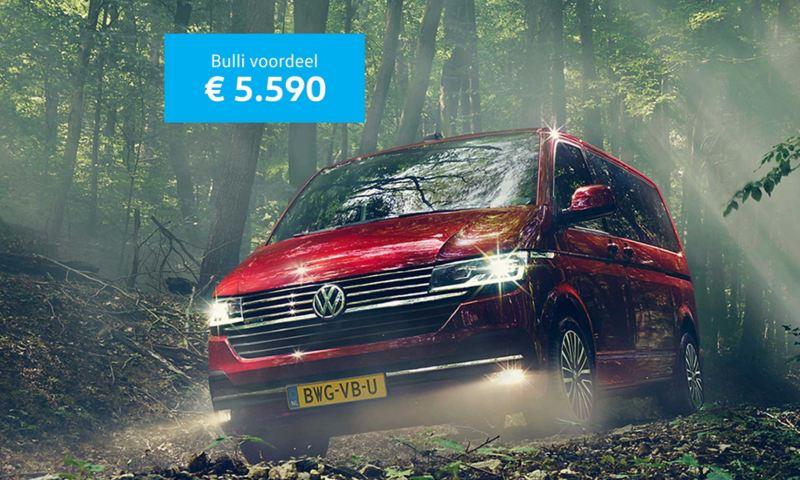 Bulli introductievoordeel van € 5.590
