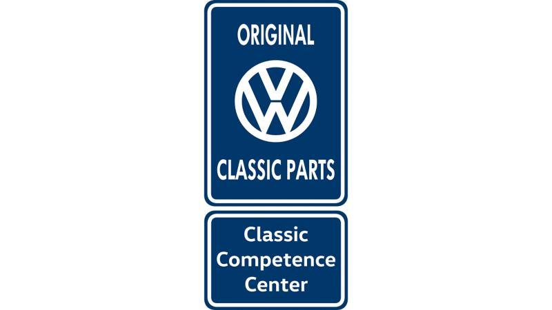 Volkswagen Service Original Classic Parts Logo