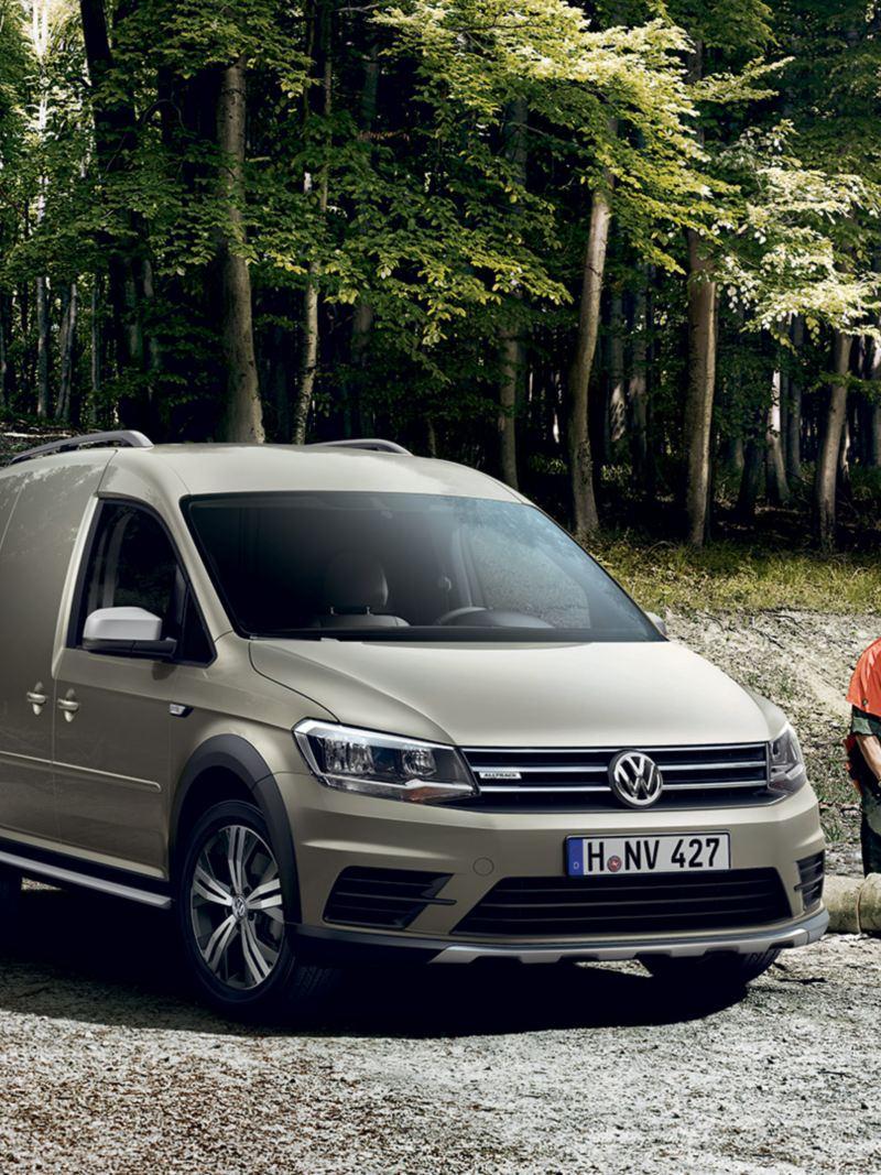 Caddy Alltrack varebil fra Volkswagen Nyttekjøretøy