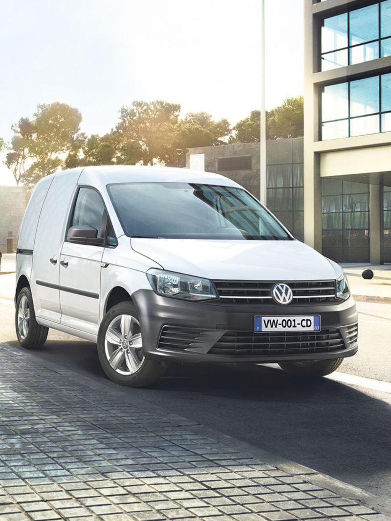 Volkswagen Véhicules Utilitaires Cadddy van vu de profil