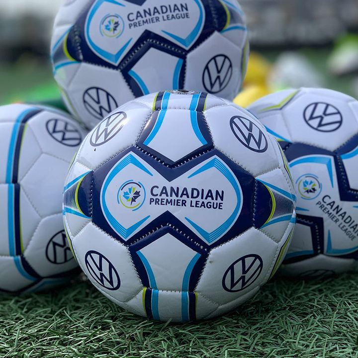 Canadian Premier League soccer balls