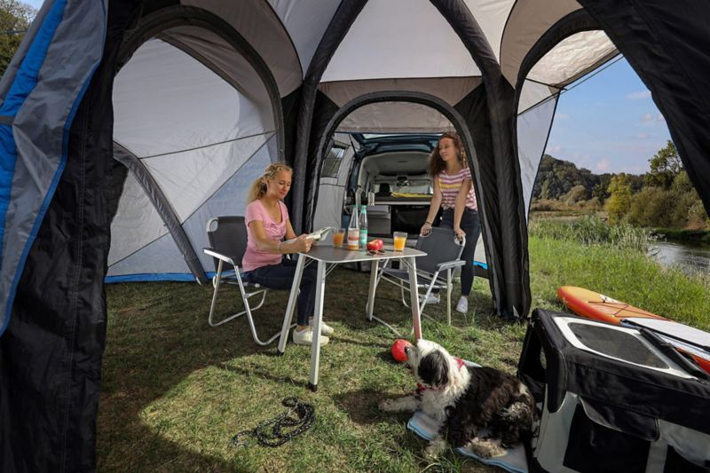 Caddy California tenda allestita