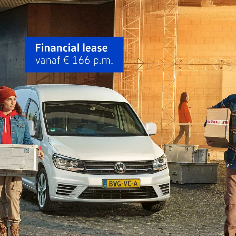 Caddy Financial lease € 166 per maand