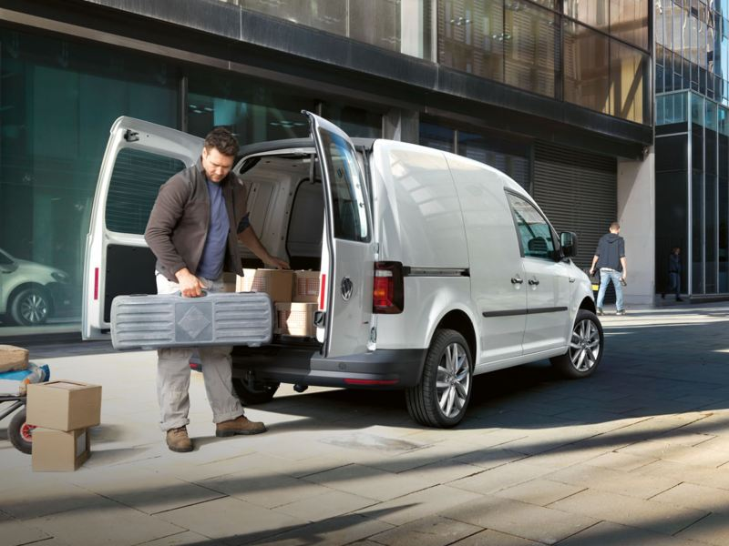 Carrinha VW Caddy campanha re-start