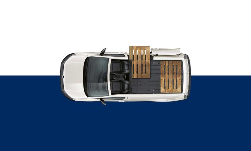 Europallets Caddy Cargo Maxi