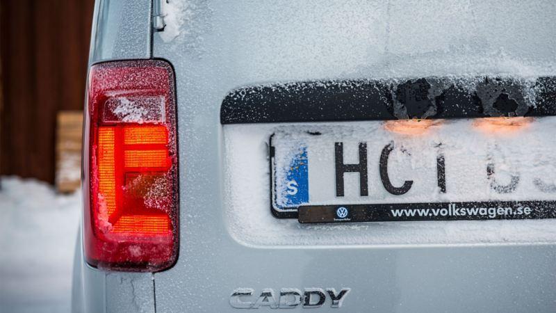 Nerisad Volkswagen Caddy Maxi TDI bakifrån