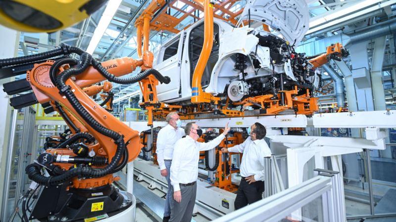 Massiccio ammodernamento delle attività di produzione di Volkswagen Veicoli Commerciali ad Hannover