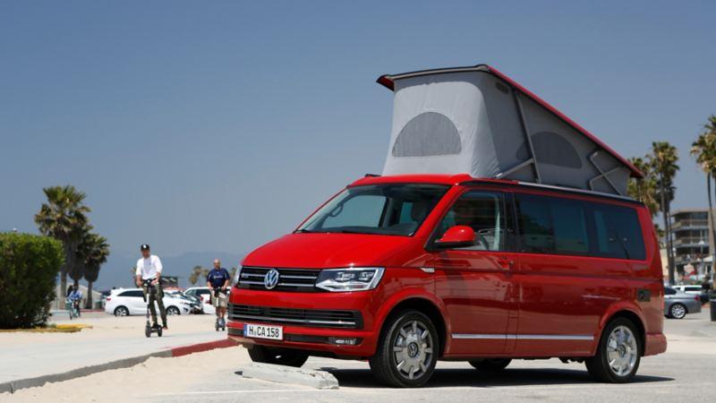 Volkswagen California Ocean på rätt plats