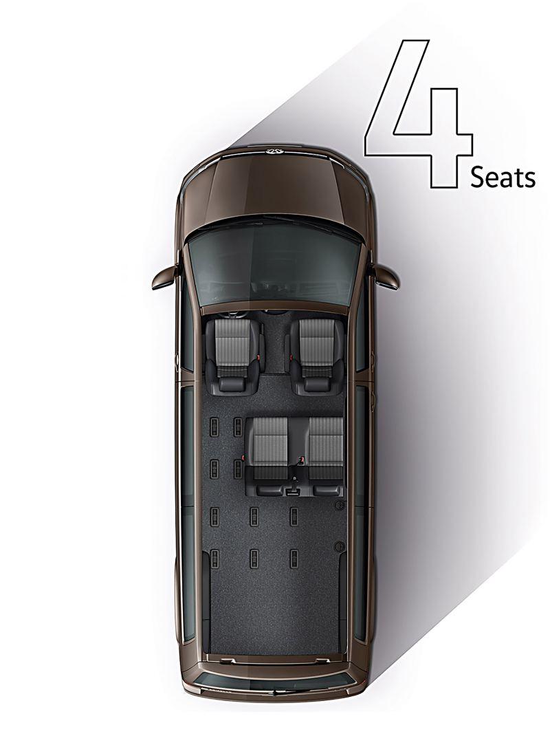 4 seats