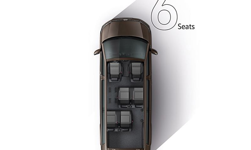 6 seats